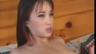 Katsuni desfrutando seu macho