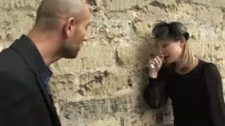 Milf francesa leva consolo do amigo tesudo