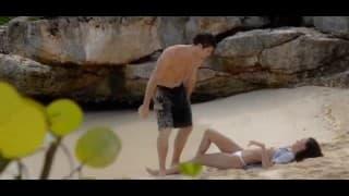Uma cena na praia