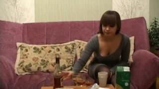 Jantar sexual em casa de um amigo