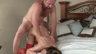 Austin Kincaid fode em lingerie