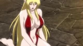 Hentai Tentacle - Ela está cuidando de um grande manko!