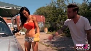 PureXXXFilms - Jasmine Jae fica com a buceta em brasa!