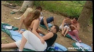 Orgia com Claudia Rossi, Gilda Roberts e Priva Sharka Blue