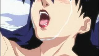 Menina hentai amarrada cutucando seu manko molhado
