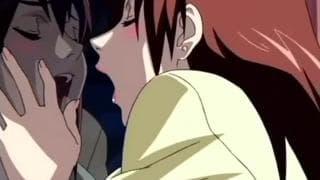 Ruiva hentai em uma sessão de sexo anal hardcore