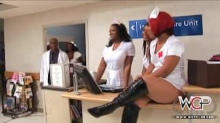 WCP CLUB - Enfermeiras negras com tesão