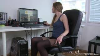 Um momento para se masturbar no trabalho