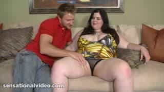 Holly Jayde uma gorda que adora pénis grandes