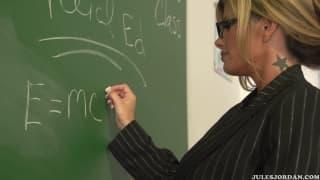 Kristal Summers que a rola do aluno