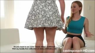 Riley num casting com Maryann