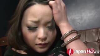 Yuu Haruka recebe dupla penetração!