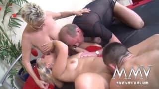 orgia HD porno grandi BBQ