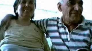 Um casal velho turco tendo relações