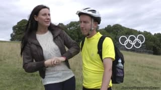 Esta morena adora foder ciclistas!