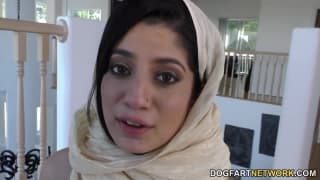 Nadia Ali uma morena que gosta de pretos !