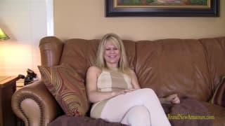 Gail masturba-se mesmo muito hoje e gostamos