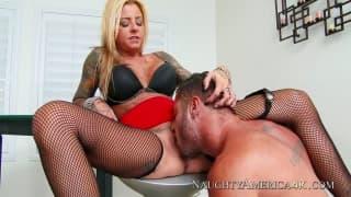 Britney Shannon e seu amigo Danny Mountain