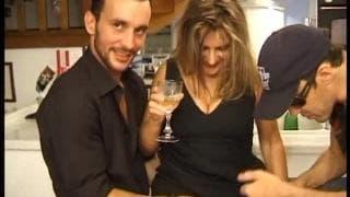 O cu de uma francesa com dois pénis !