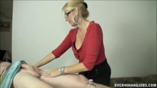 Sessao de massagem com um pau duro!