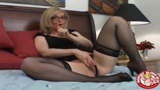Nina Hartley quer chupar um pénis !