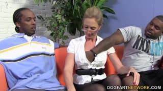 Jenna Covelli numa fantasia interracial