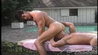 Danny Somers e Kris Lord em sexo anal!