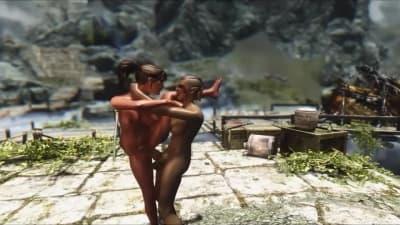 Sexo virtual com uma boazona