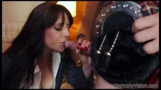 Samantha Bentley leva no cu com prazer