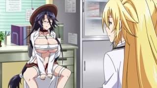 Amigos que gostam de foder juntos num Hentai!