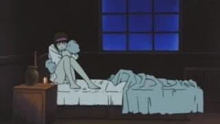 Um hentai diabólico com uma moça fodida