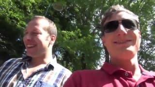 Dois homens alemães pegaram uma gostosa