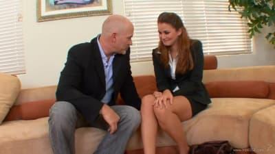 Uma entrevista de trabalho que acaba em sexo
