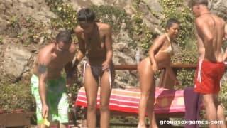 Sexo em grupo com Alexa Jaymes e Lyla