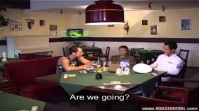 Luda Blalek transando com Pavel y Joseph