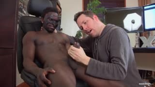 Pascal adora a rola preta de Jackson