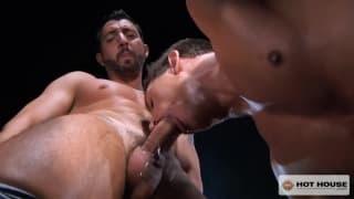 Jimmy Durano goza com Alexander Gustavo