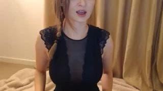 Webcam com uma moça safada e inocente