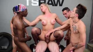 orgia Gangbang porno
